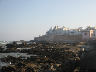 The ramparts of Essaouira