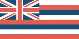 Ka Hae Hawai'i, or the Flag of Hawai'i.Image provided by Classroom Clip Art (http://classroomclipart.com)