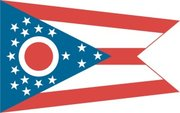 Flag of Ohio. Image provided by Classroom Clip Art (http://classroomclipart.com)